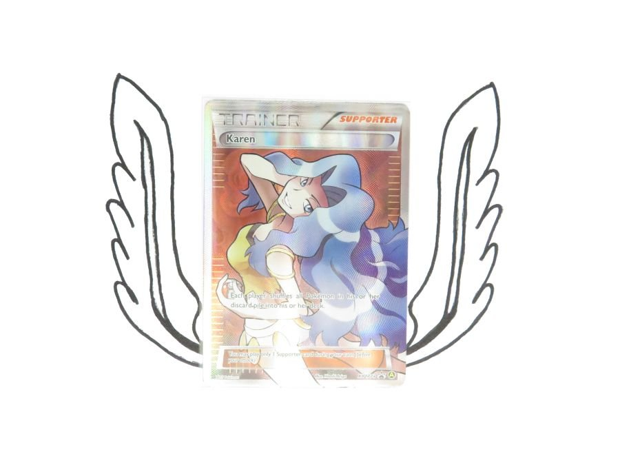 XY Premium Trainers Collection Karen XY177a Pokemon Card! NR Mint!