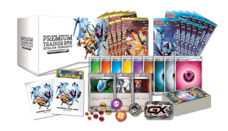 Japanese SM5S - Premium Trainer Box: Ultra Sun Ultra Moon