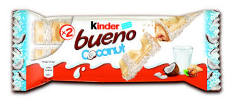 Kinder Bueno Coconut x 30 Bars
