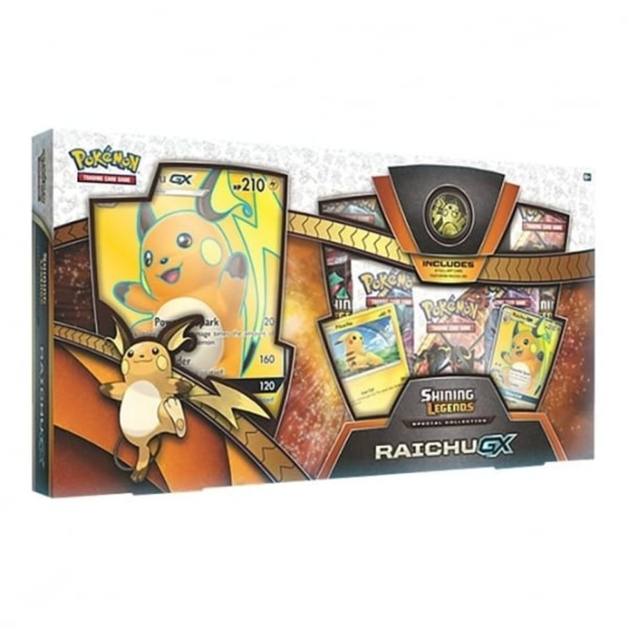 Pokemon - Shining Legends Special Collection - Raichu GX