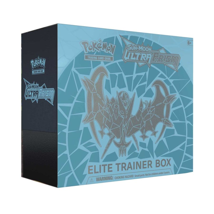 Pokemon Sun & Moon Dawn Wings Necrozma Ultra Prism Elite Trainer Box!