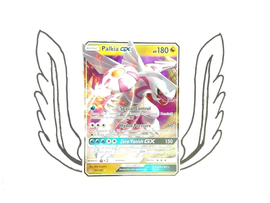 Pokemon - Sun & Moon Ultra Prism Palkia GX 101/156 - Single Card