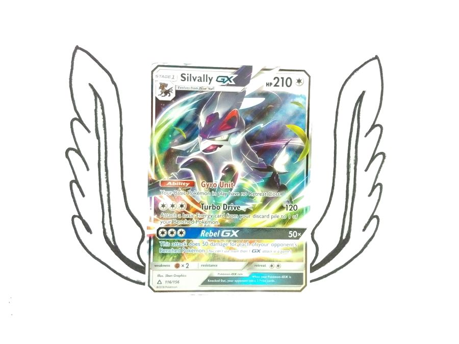 Pokemon - Sun & Moon Ultra Prism Silvally GX 116/156 - Single Card