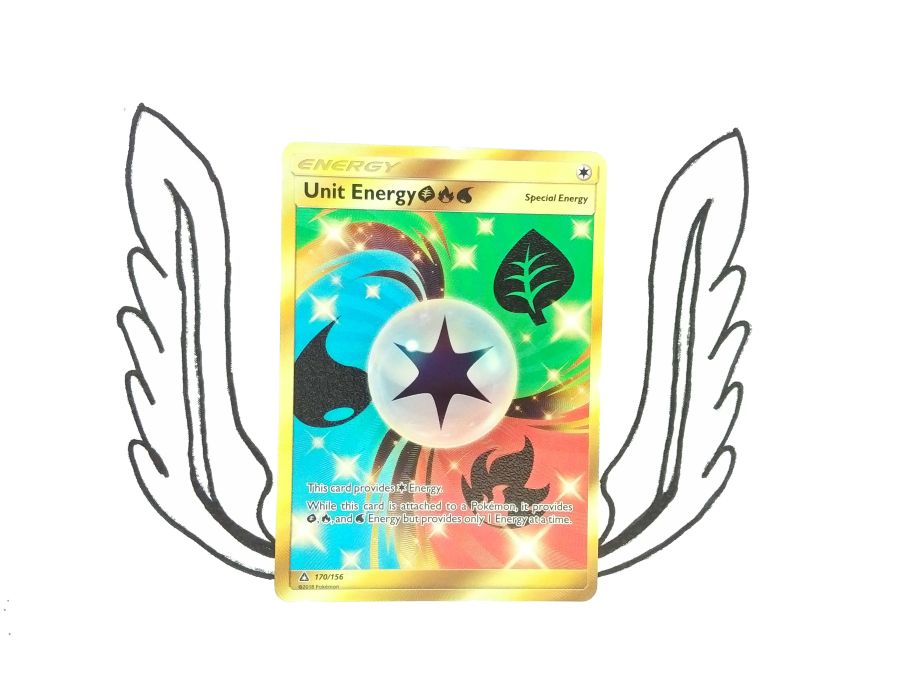 Pokemon - Sun & Moon Ultra Prism Secret Rare Unit Energy 170/156  - Single Card