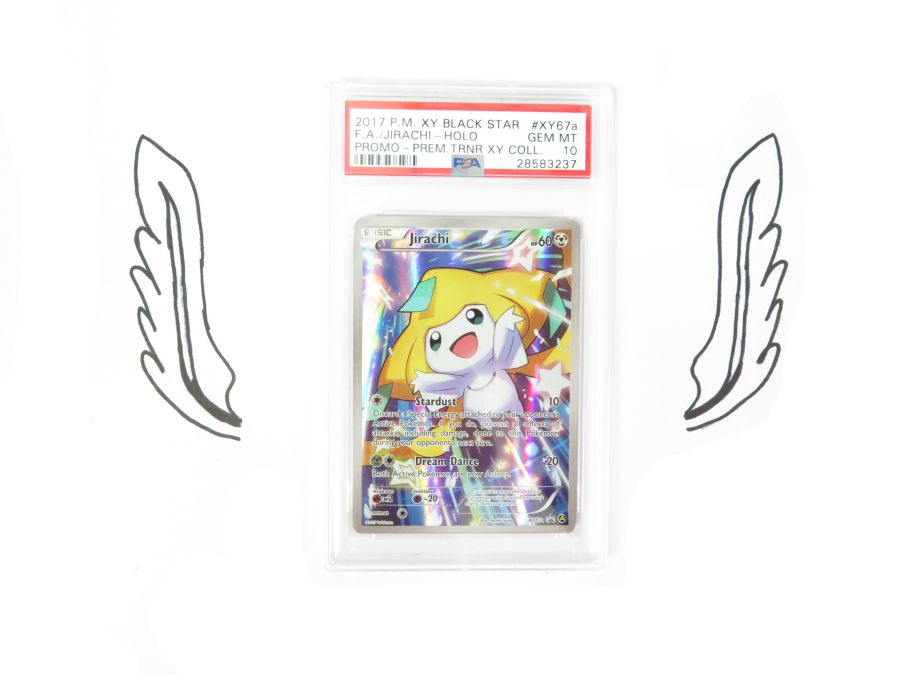 PSA 10 - XY Premium Trainer Collection Jirachi EX XY67a Gem Mint Pokemon Card