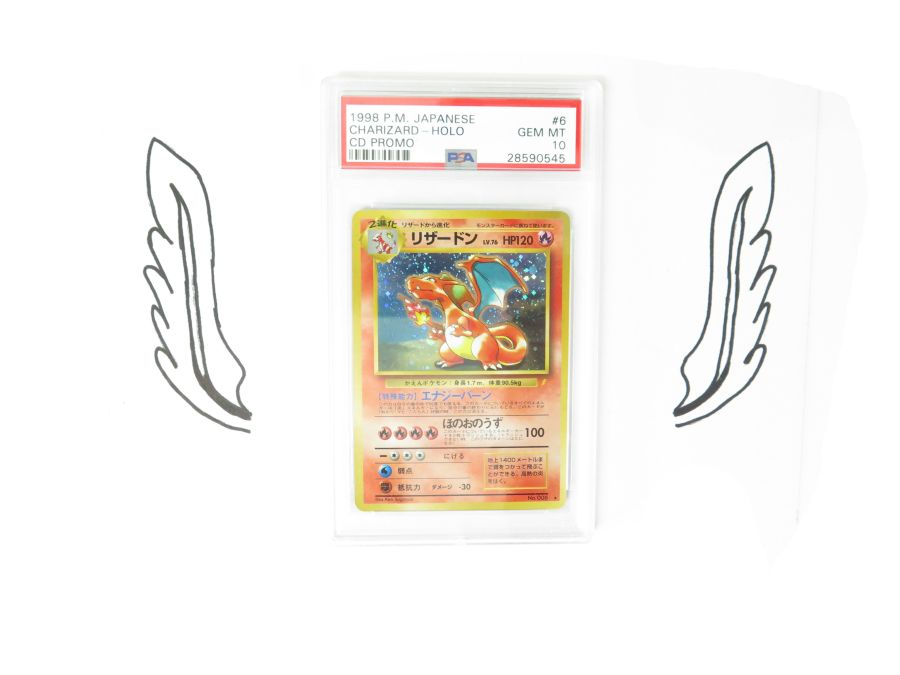 PSA  10 - Japanese CD Promo Charizard No.006 Mint Pokemon Card