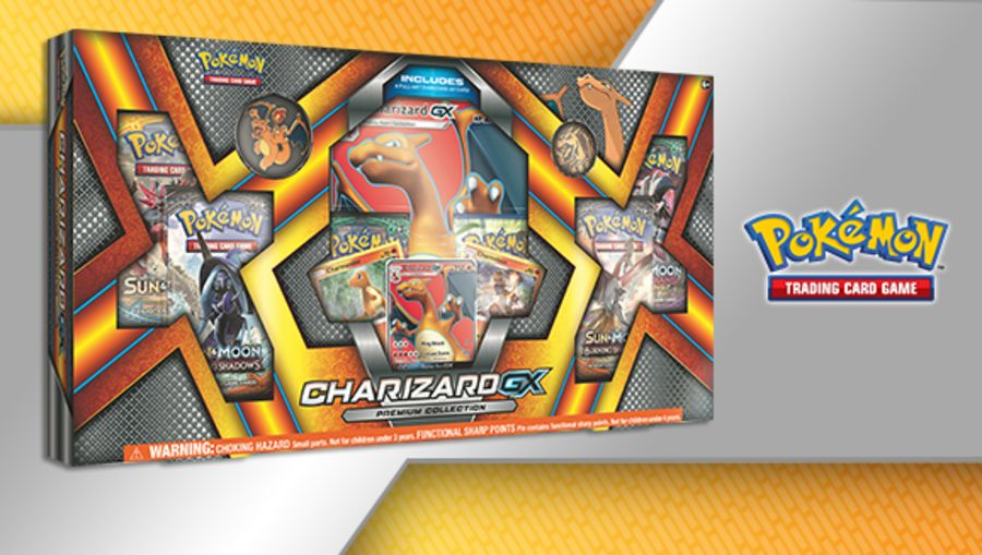 Pokemon - Charizard GX Premium Collection Box