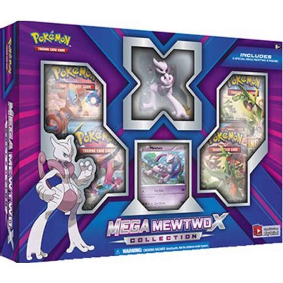 Pokémon TCG: Mega Mewtwo X Collection