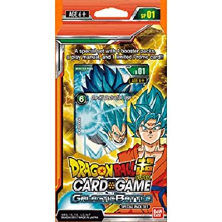 Dragon Ball Super Card Game - SP01 Galactic Battle Special Pack