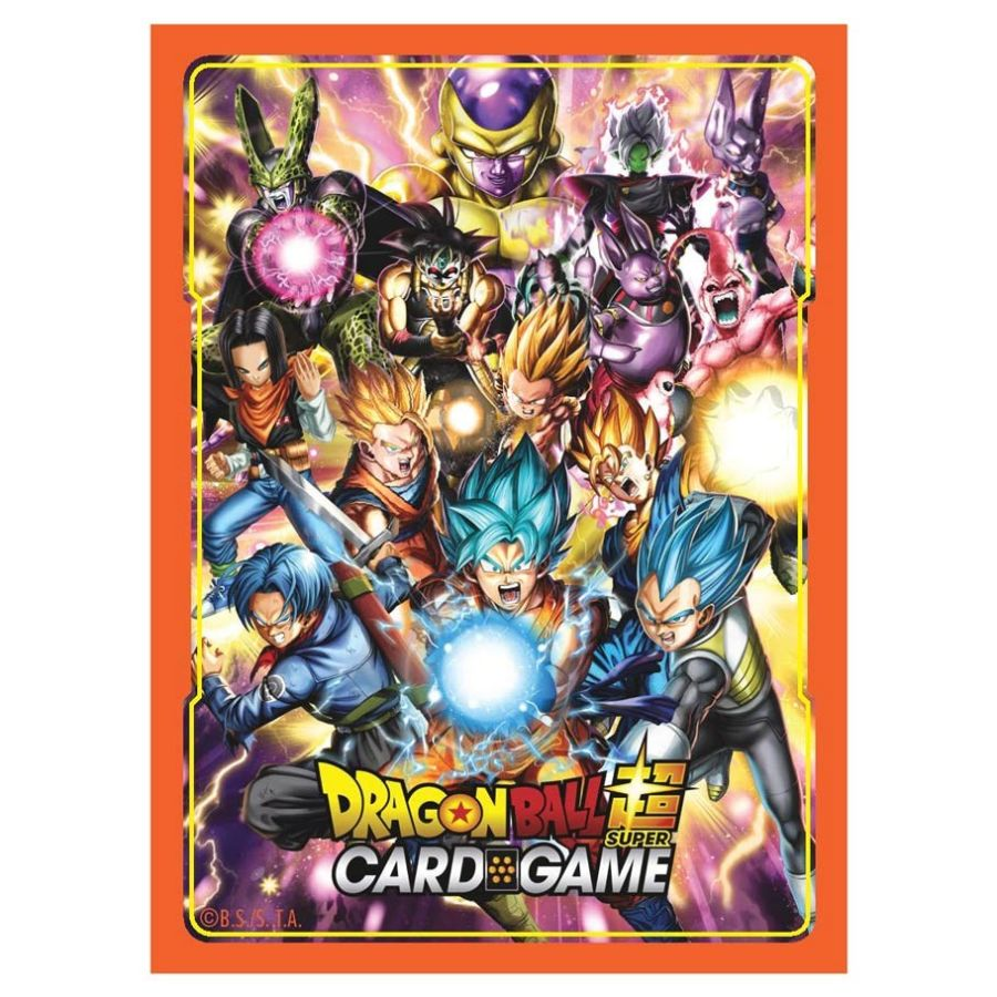 Dragon Ball Super: Std Deck sleeves 65ct. All Stars