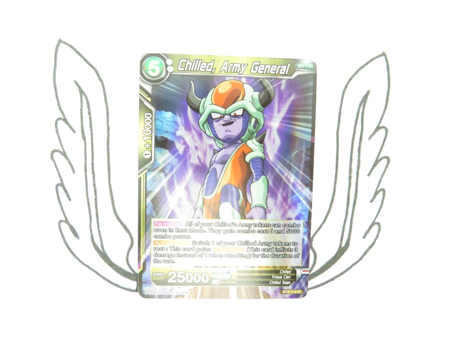Dragon Ball Super TCG - BT2-112 R Chilled, Army General