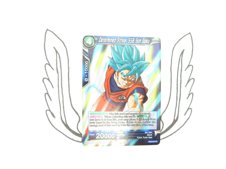 Dragon Ball Super TCG - BT2-037 R Determined Striker SSB Son Goku
