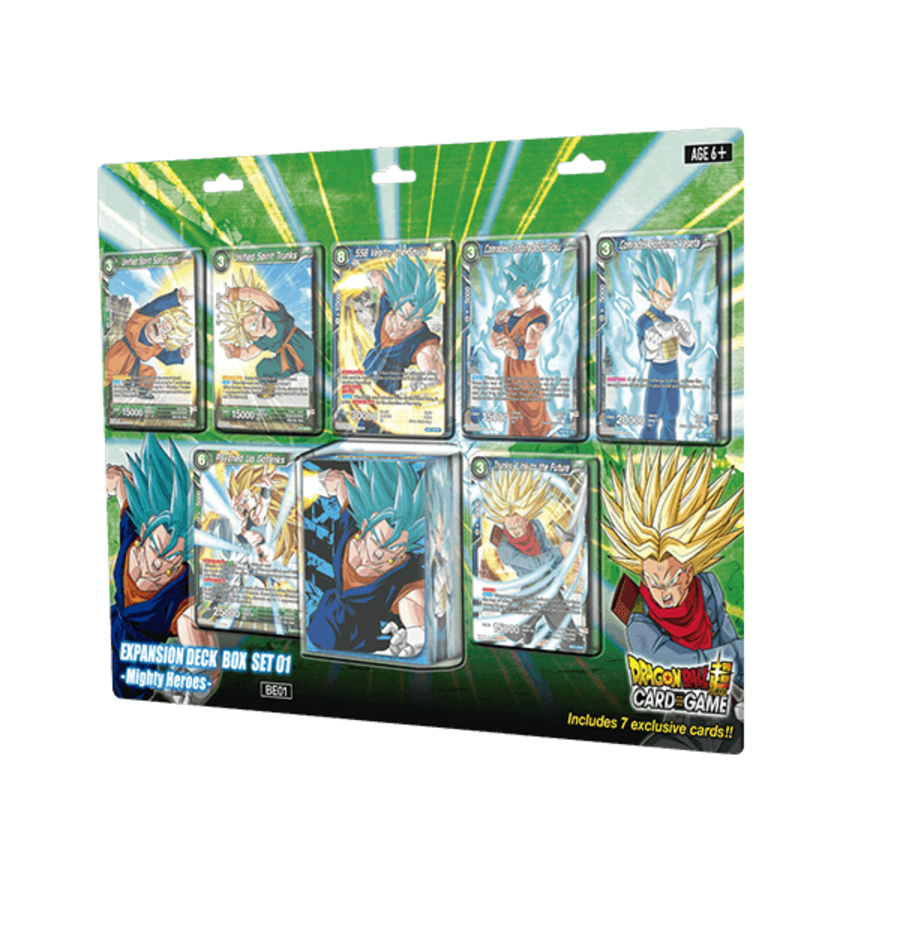 Dragon Ball Super Card Game - Expansion Deck Box Set 01 - Mighty Heroes