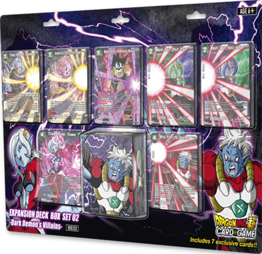 Dragon Ball Super Card Game - Expansion Deck Box Set 02 - Dark Demon's Villains