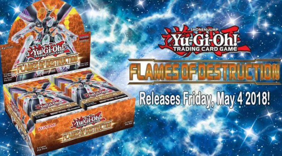 Yu-Gi-Oh! - Flames of Destruction - Booster Box (24 Packs)