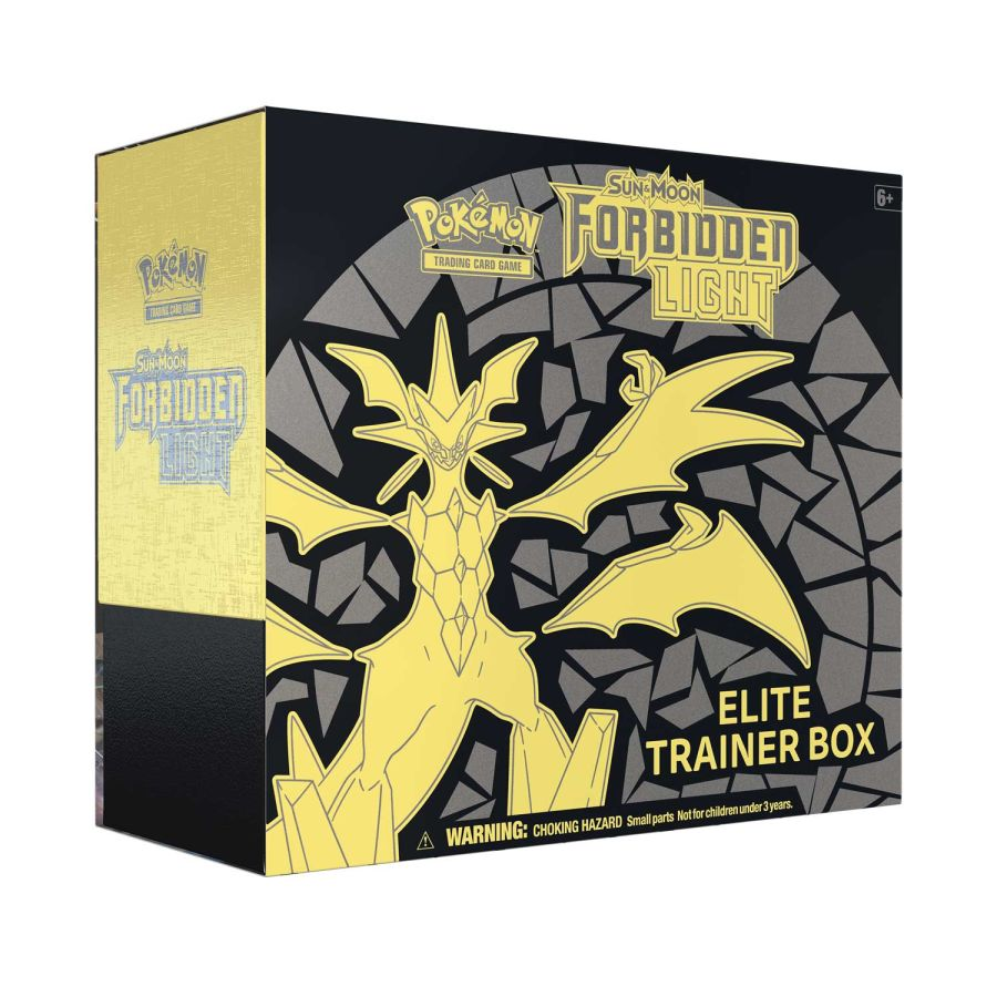 Pokemon - Sun & Moon Forbidden Light - Elite Trainer Box