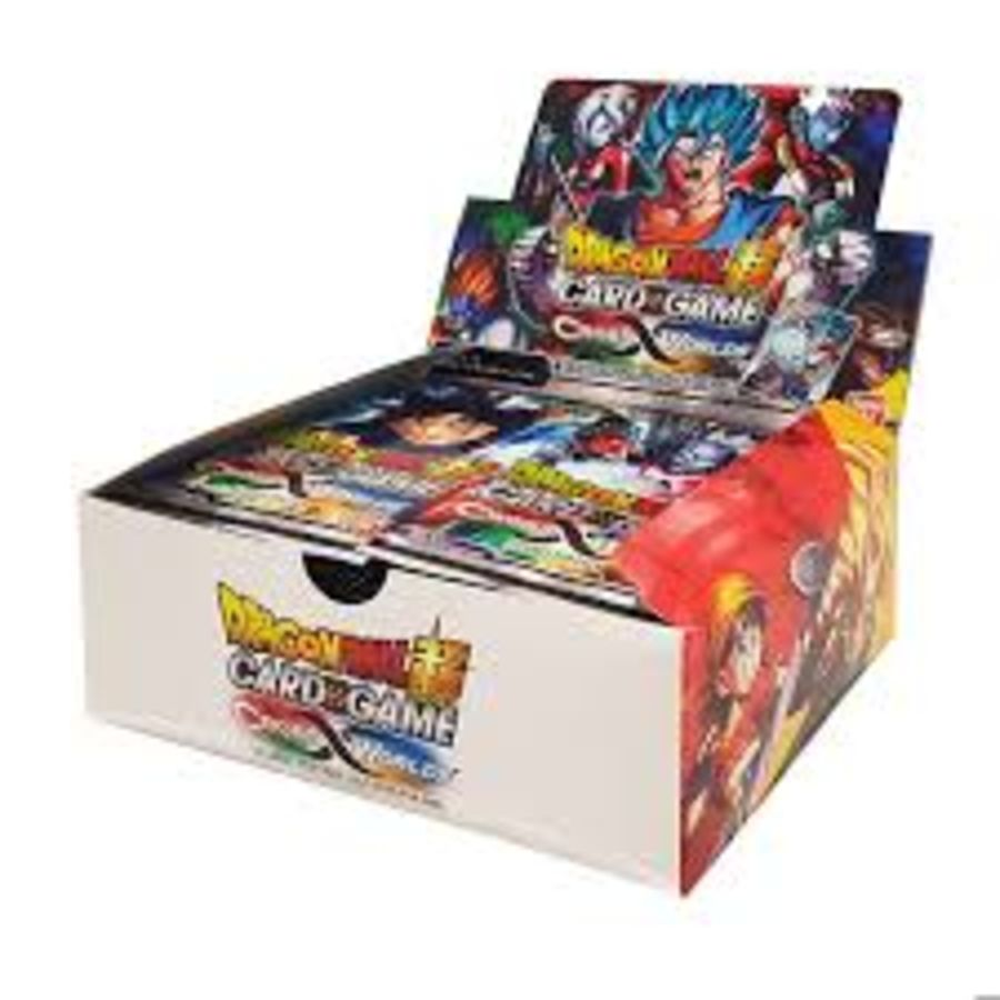 Dragon Ball Super Card Game - B03 Cross Worlds - Booster Box