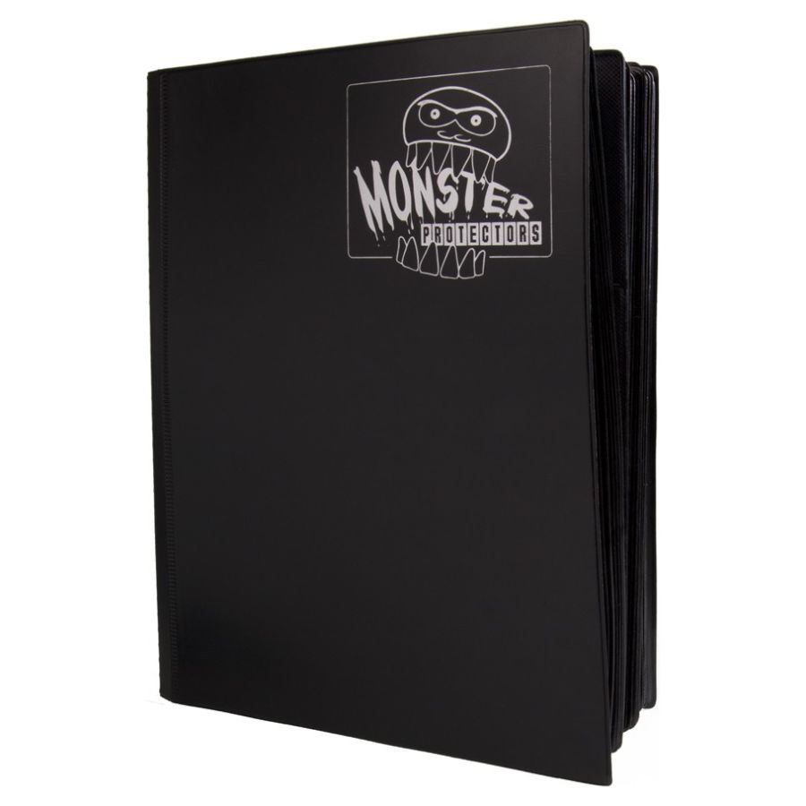 Monster - Mega Monster Matte Black Binder x 4