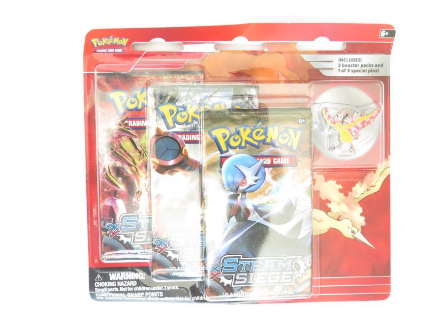 Pokemon Legendary Collection Pin Packs - Moltres
