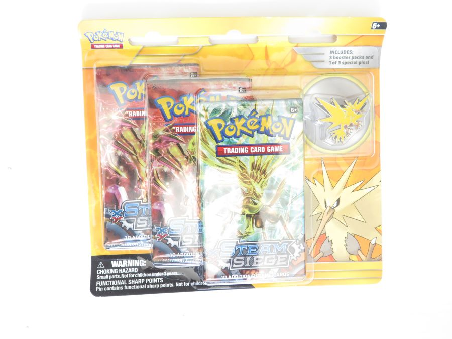 Pokemon Legendary Collection Pin Packs - Zapdos