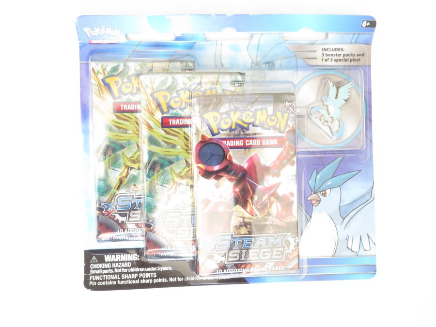Pokemon Legendary Collection Pin Packs - Articuno
