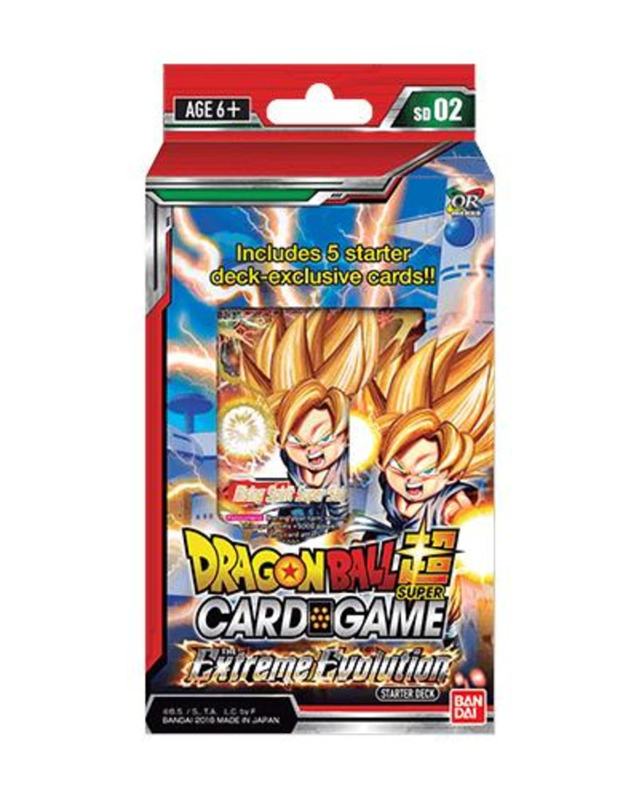 Dragon Ball Super Card Game - SD02 - Starter Deck Extreme Evolution