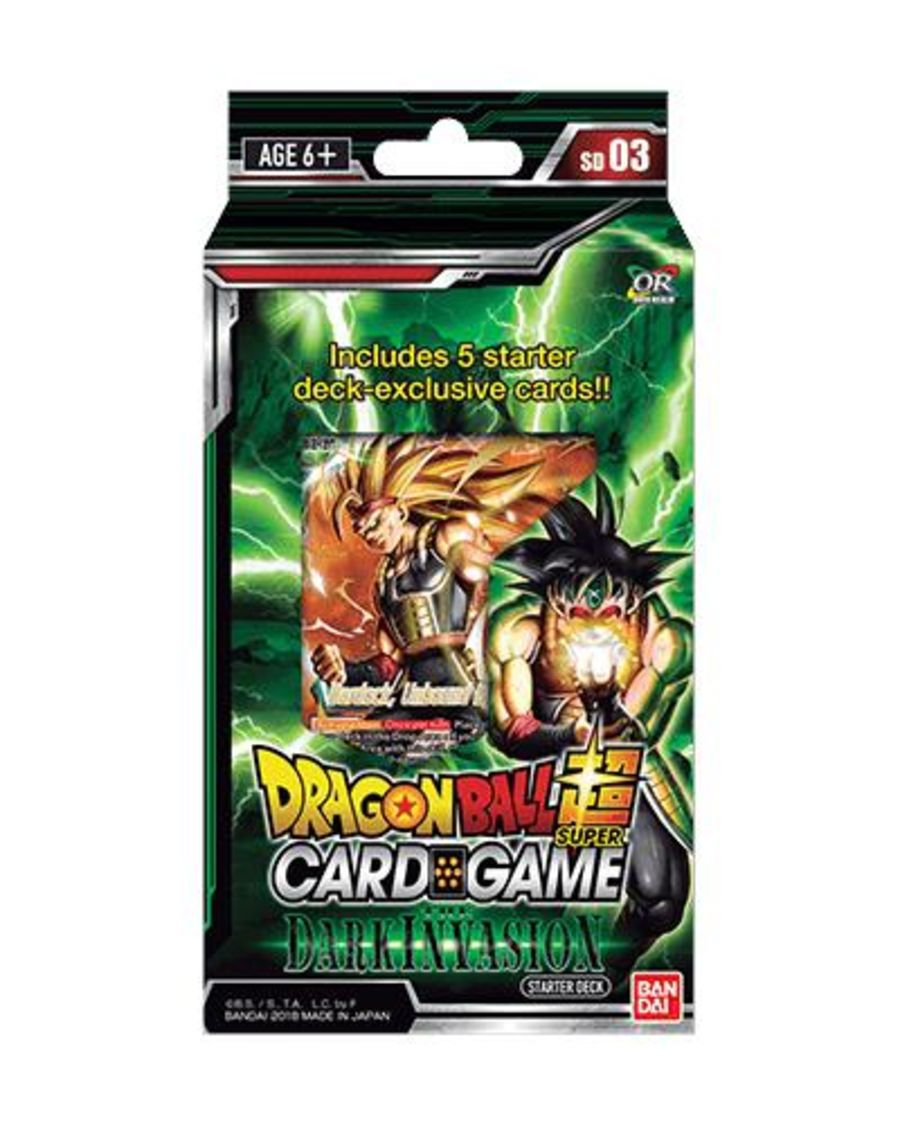 Dragon Ball Super Card Game - SD03 - Starter Deck Dark Invasion