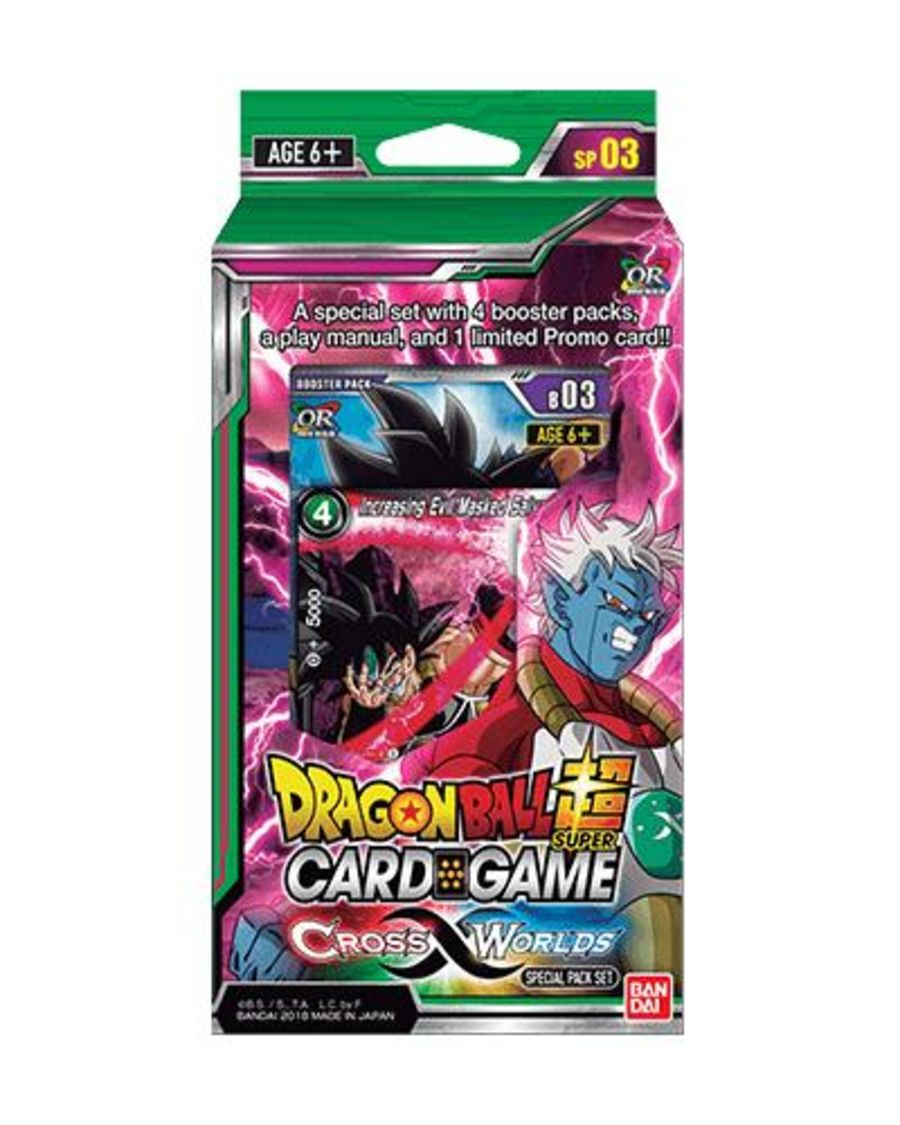 Dragon Ball Super Card Game - SP03 Cross Worlds Special Pack