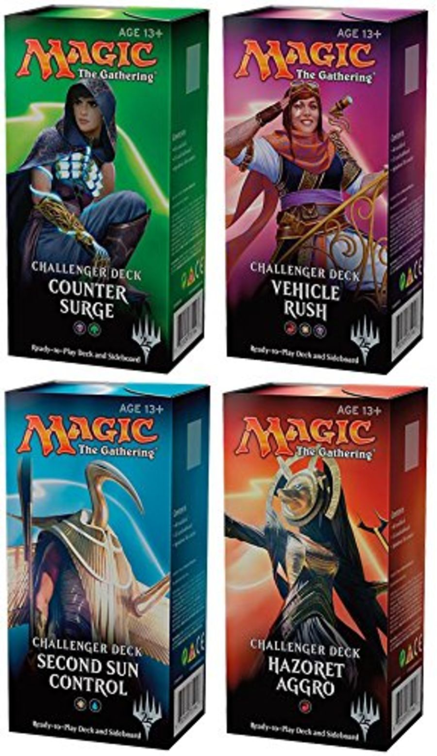 Magic The Gathering Challenger Deck: Set of 4