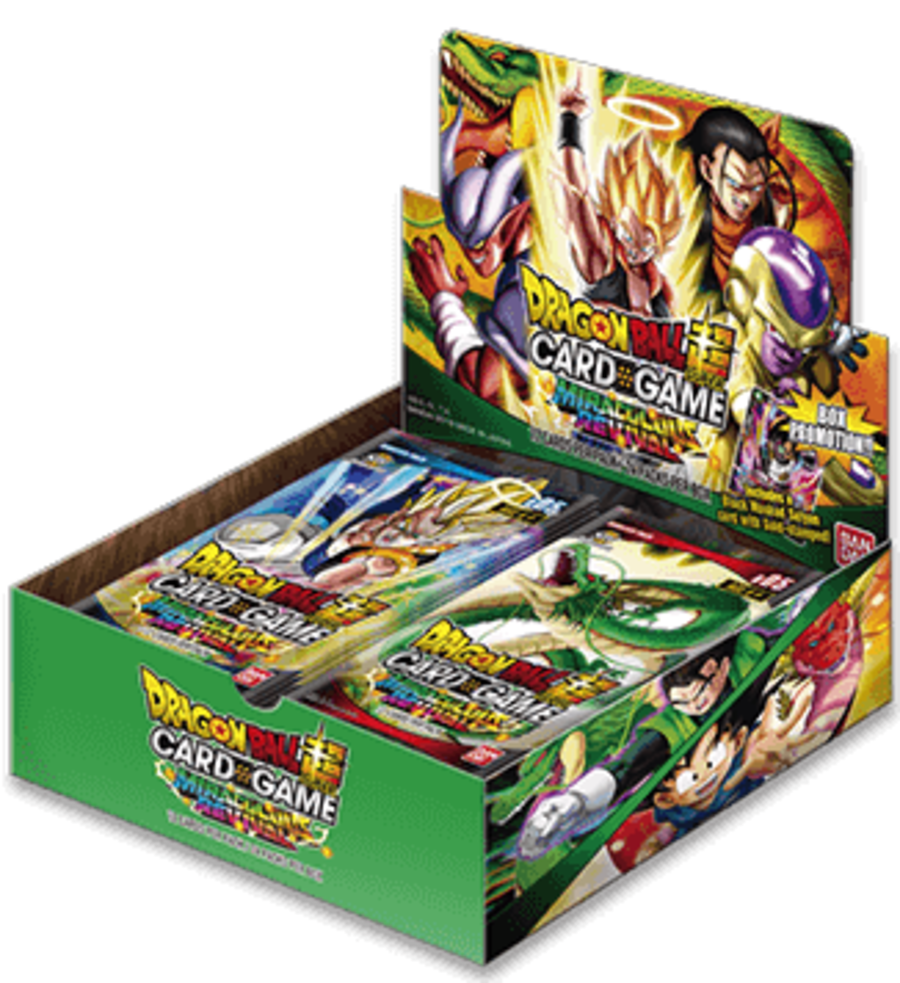 Dragon Ball Super Card Game - B05 Miraculous Revival - Booster Box