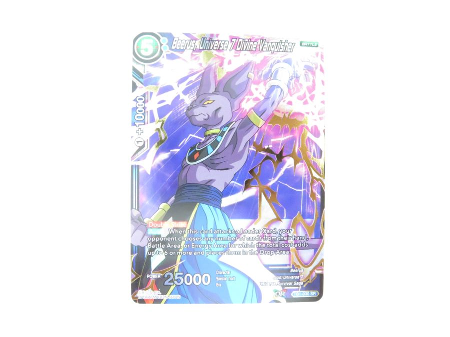 Dragon Ball Super TCG - TB1-030 Beerus, Universe 7 Divine Vanquisher
