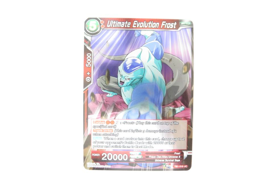 Dragon Ball Super TCG - TB1-018 Ultimate Evolution Frost Foil