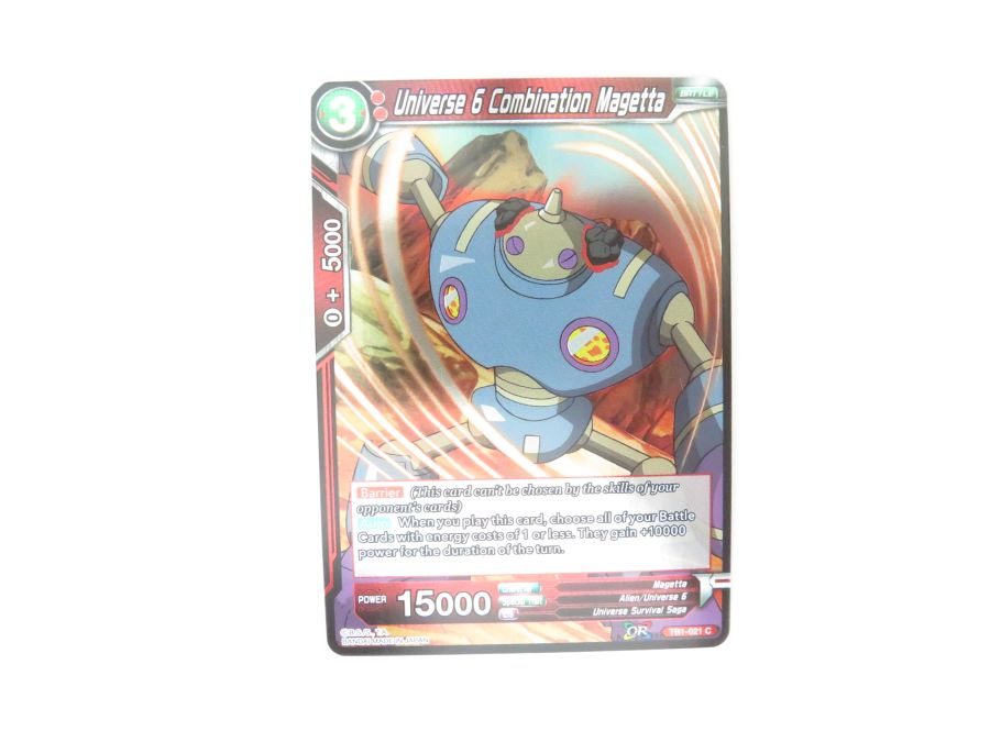 Dragon Ball Super TCG - TB1-021 Universe 6 Combination Magetta Foil
