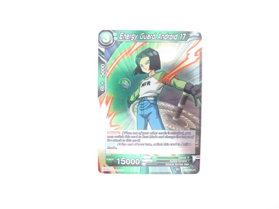 Dragon Ball Super TCG - TB1-054 Energy Guard Android 17 Foil