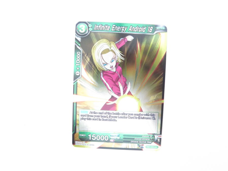 Dragon Ball Super TCG - TB1-055 Infinite Energy Android 18 Foil