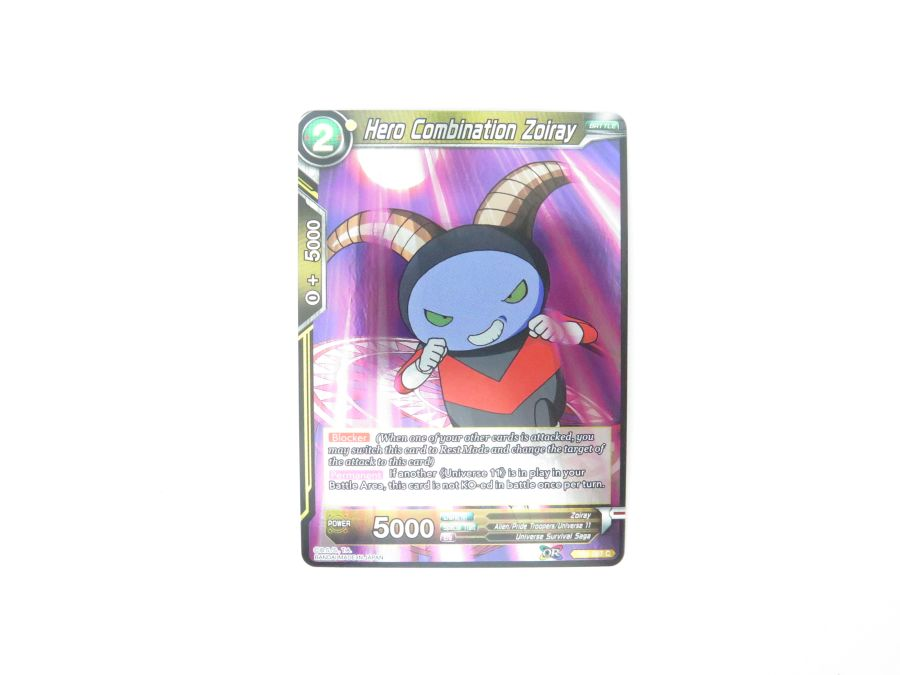 Dragon Ball Super TCG - TB1-087 Hero Combination Zoiray Foil