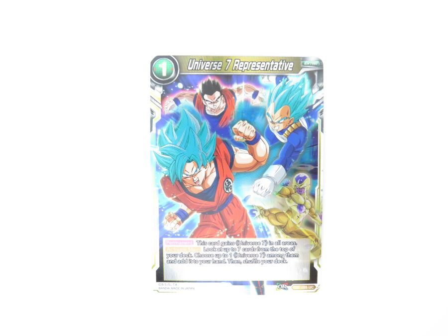 Dragon Ball Super TCG - TB1-095 Universe 7 Representative Foil
