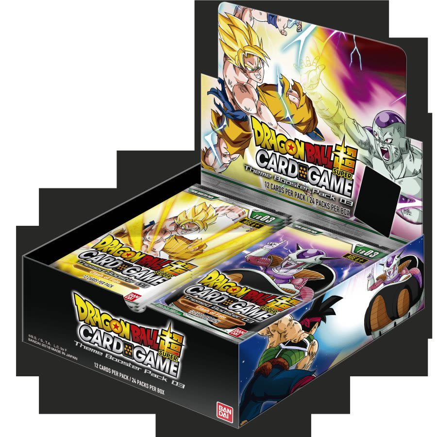 Dragon Ball Super Card Game - TB03 Themed Booster - Booster Box
