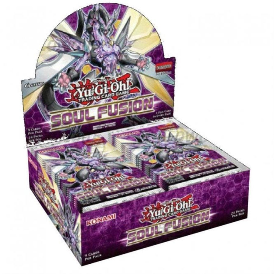 Yu-Gi-Oh! Soul Fusion Booster Box (24 Count CDU)