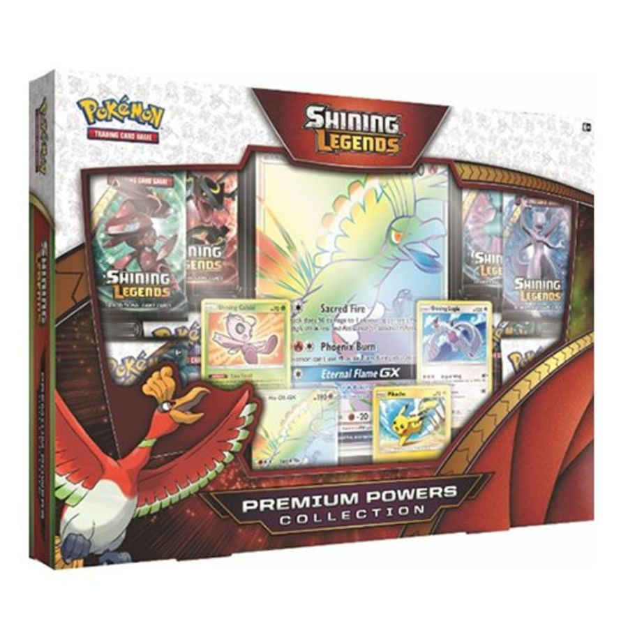 Pokemon - Shining Legends - Ho-Oh Premium Powers Collection Box