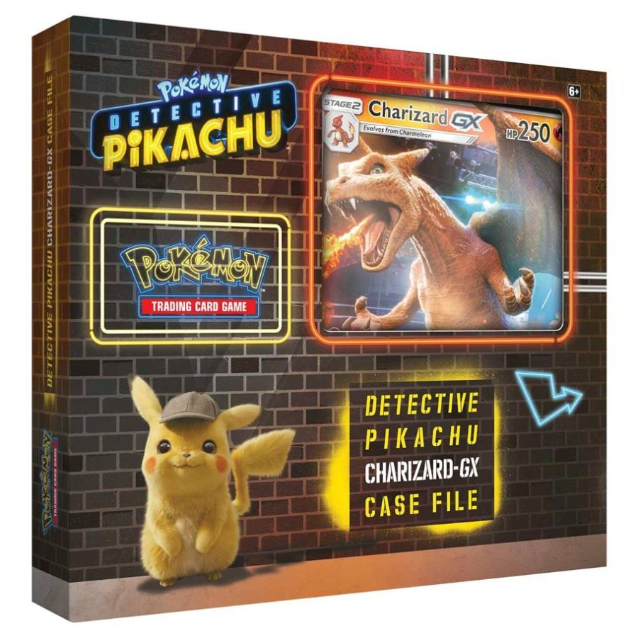Pokemon Detective Pikachu - Charizard-GX Case File