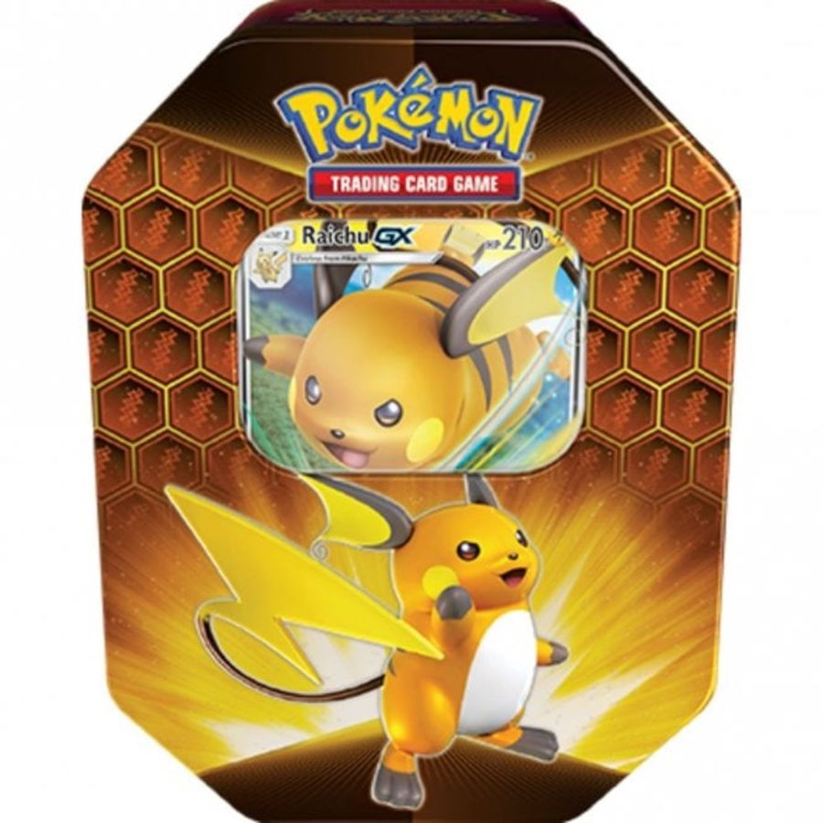 Pokemon - Hidden Fates - Raichu-GX Tin
