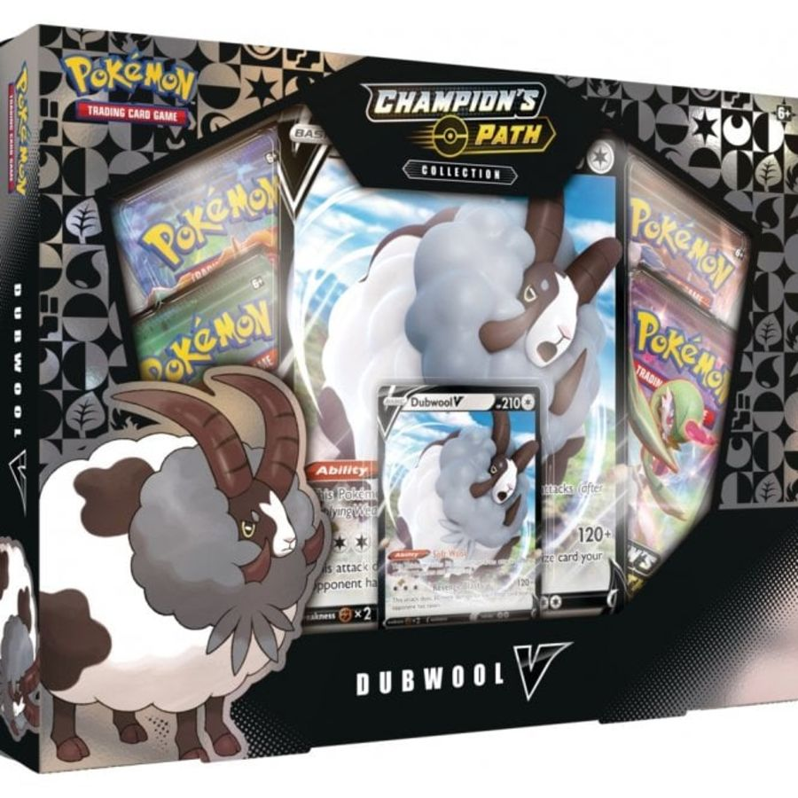 Pokemon - Champions Path - Dubwool V Box