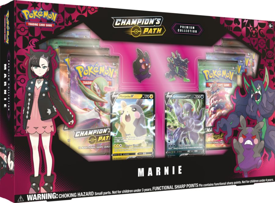 Pokemon - Champions Path - Marnie Premium Collection