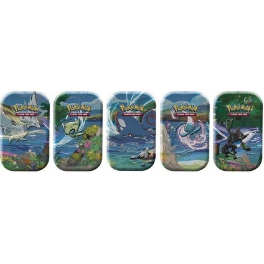 Pokemon - Shining Fates - Mini Tin Bundle of 5 - Reshiram, Celebi, Kyogre, Manaphy, Zarude