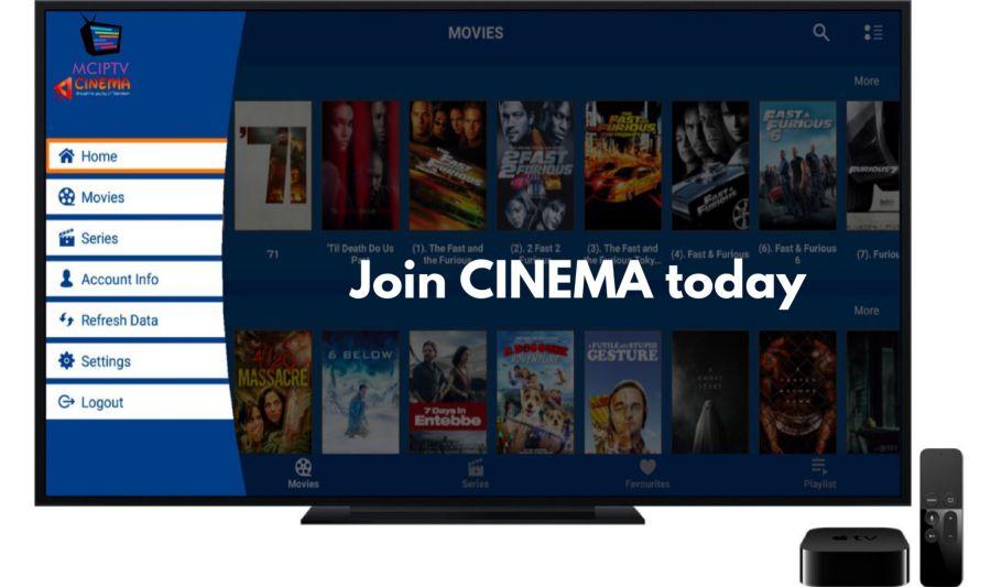 12 MONTHS PASS FOR MCIPTV CINEMA