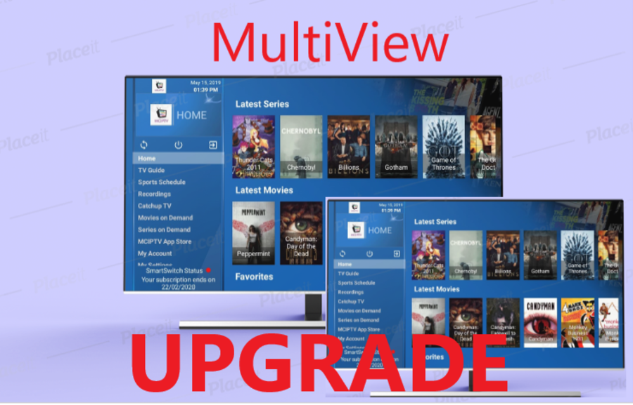 UPGRADE to MULTIVIEW