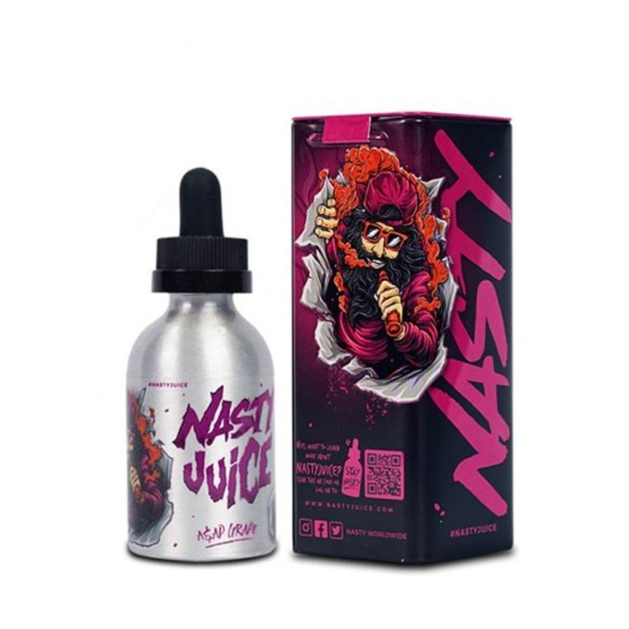 Asap Grape By Nasty Juice 50ml 0mg
