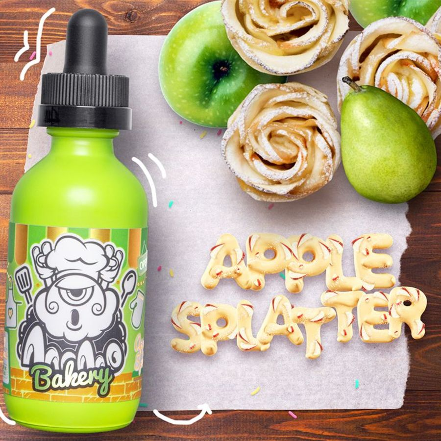 Apple Splatter By Momo Bakery 50ml 0mg