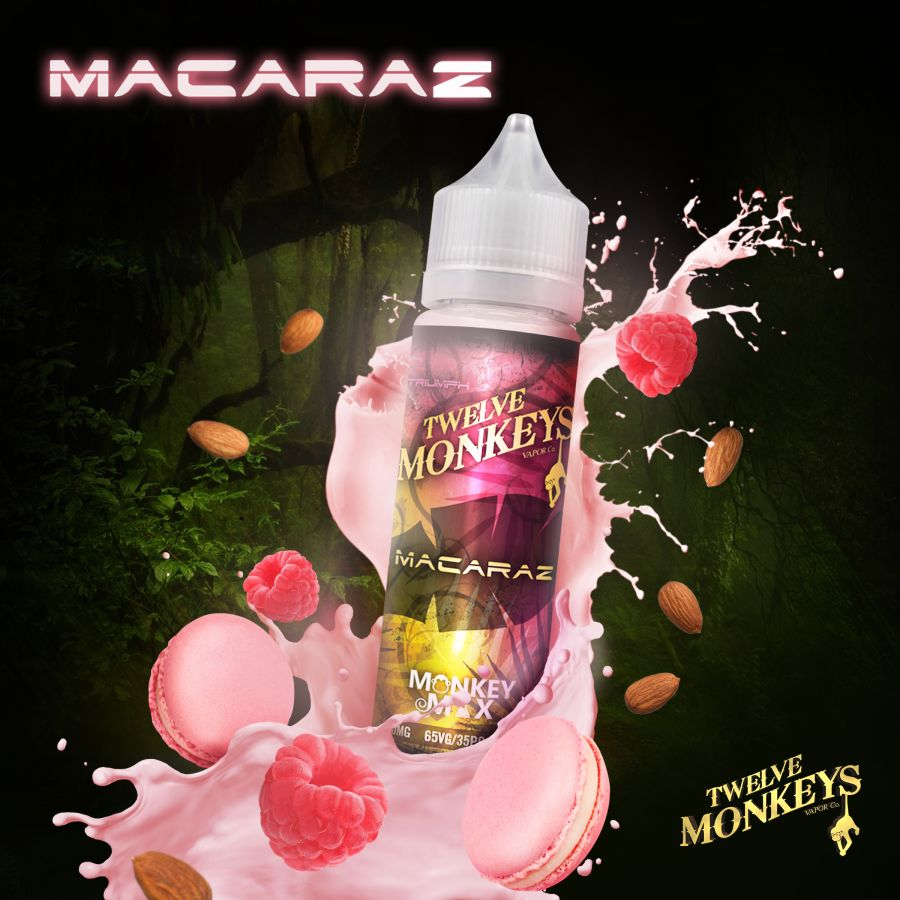 Macaraz By Twelve Monkeys 50ml 0mg